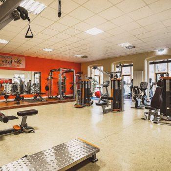 Boutiqe Hotel Badehof Fitnessraum