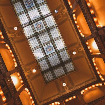 Boutiqe Hotel Badehof Foyer Decke