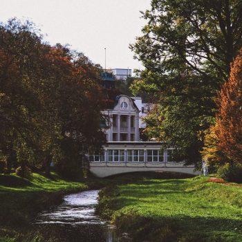 Boutiqe Hotel Badehof Garten Aussenansicht