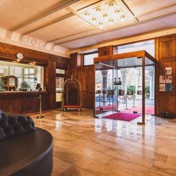 Boutiqe Hotel Badehof Rezeption