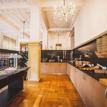 Boutiqe Hotel Badehof Frühstücksbereich