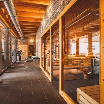 Boutiqe Hotel Badehof Sauna Flur