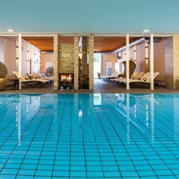 Boutiqe Hotel Badehof indoor Pool