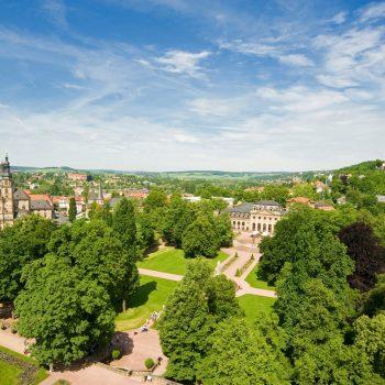 Panorama Dom Schlossgarten Orangerie Sommer